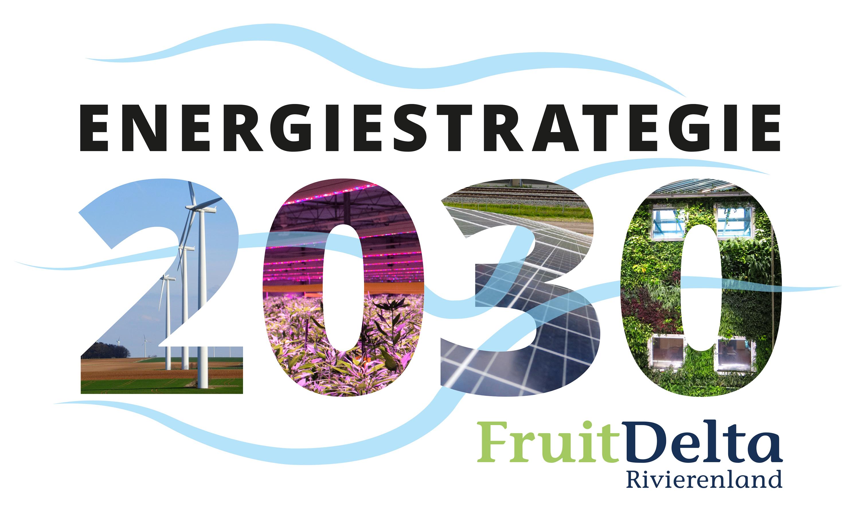 Grafische verbeelding van de Rivierenlandrivieren tekst (energiestrategie 2030 FruitDelta