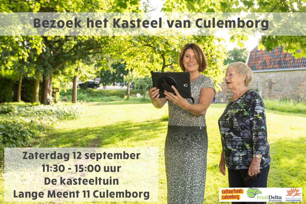 Lancering VR Tour Kasteel Culemborg